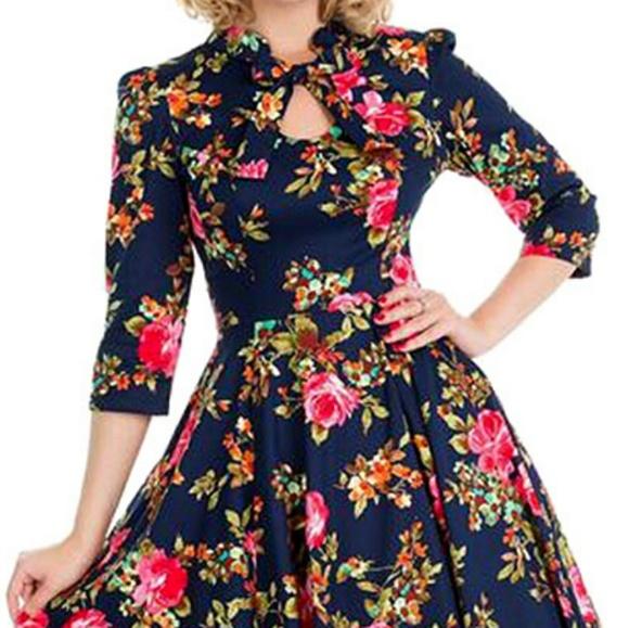 207bcaed08ad3 H&R London Dresses | Hr London Autumn Afternoon Swing Dress | Poshmark